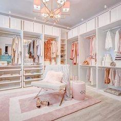 Walk In Closet Design, Bedroom Closet Design, Master Bedroom Closet, Room Ideas Bedroom, Closet Designs, Bedroom Decor, Bedroom Closets, Luxury Master Bedroom, Closet Rooms