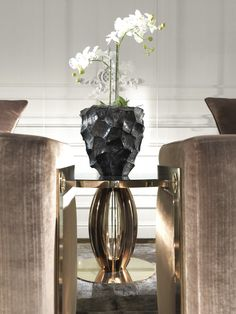 Pumpkin Central Table from Roberto Cavalli Home Interiors Essential Collection stocked at Kings of Chelsea #RobertoCavalliInteriors #RobertoCavalliHomeInteriors #KingsofChelsea #Interiors #InteriorsStylist #Fashion #Style #Lifestyle #DesignInspiration #Design #RobertoCavalli #RobertoCavalliInteriors  #DesignBlog #InteriorsBlog #InteriorDesign #FurnitureDesign
