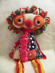 RESERVED  Flower the Quilted Lion par alittlecatty sur Etsy, $65.00