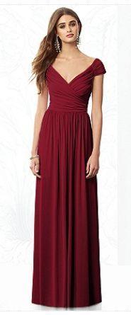 Vestido de madrinha vermelho - http://vestidododia.com.br/vestidos-de-festa/vestidos-para-madrinhas-de-casamento/