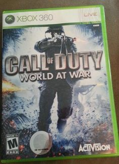 Call of Duty World at War Microsoft Xbox 360 Game Complete Free Shipping 047875832817 | eBay
