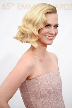 Ride the Wave: The Best Retro Curls at the Emmys - January Jones