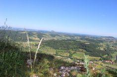 Aussicht vom Messelstein, am Messelberg in Donzdorf