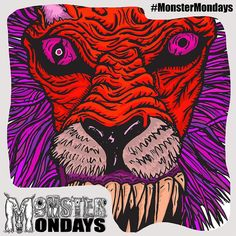 Remember this from last Monday?? ...Yes a different colour! New Monstermondays coming your way soon! And some exciting news! Coming Soon! Enjoy! #MonsterMondays #monster #drawing #penandink #art #instaart #instaartist #artist #mentalhealth #mentalhealthawareness #anger #illustration #wip #lion #graphic #anxiety #depression #smashthestigma #stigmafighter #suicideawareness #mentalhealthmatters #recoveryispossible #mentalhealthrecovery