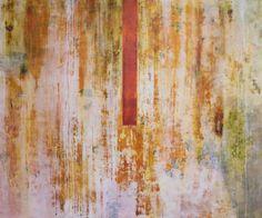 """Alvaro Pérez """"Ciclo vital""""  2014 Acrílico sobre lienzo  150 x 180 cm"""