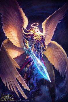 Supremo Miguel , forma angelical máxima