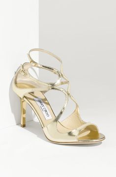896559c565a Found my perfect wedding shoe! Jimmy Choo  Ivette  Strap Sandal I choo choo  choose Jimmy Choo!