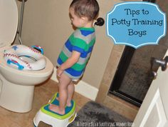 Tips to potty training boys
