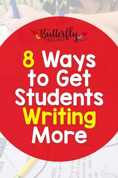 Incorporating more writing activities in your already packed teaching agenda can be a challenge. This post shares some of the ways I've been able to get my students writing more in the classroom + grab a FREEBIE from the post!