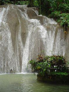 Jamaica waterfall
