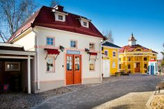 Koiramäen kaupunki. City of Doghill. Koiramäki - Doghill @Särkänniemi #sarkanniemi #tampere, visit: http//www.sarkanniemi.fi