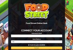 Food Street Unlimited Gems Unlimited Coins Online Hack and Cheats http://aifgaming.net/food-street-online-hack-cheats/