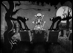 Holiday Film Reviews: The Skeleton Dance (1929)