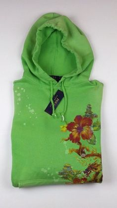 Polo Ralph Lauren Green Patriotic Big Pony Hoodie