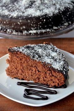 Ricetta Torta al cacao e cocco con glassa al cioccolato | Miele di lavanda