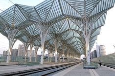 Referências - Gare do Oriente - Lisboa - Portugal - Santiago Calatrava