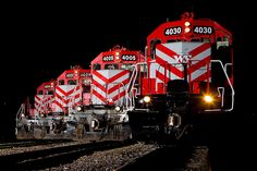 Four Locomotives