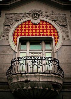 Art Nouveau in Belgrade, via Flickr.