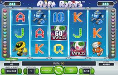 DICOVER THE OUT OF THIS WORLD SLOT MACHINE ALIEN ROBOTS™