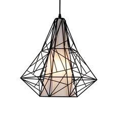 LAMPA WEWNĘTRZNA (WISZĄCA) ZUMA LINE SKELETON PENDANT HP1335-BL (black)