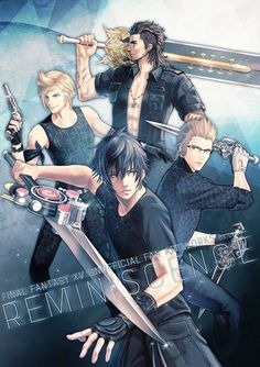 Arte Final Fantasy, Final Fantasy Characters, Final Fantasy Artwork, Fantasy Series, Final Fantasy Xv Wallpapers, Final Fantasy Collection, Gamers Anime, Cute Anime Pics, Fan Art