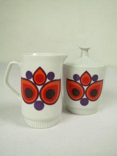 70er Milch und Zucker Colditz | Porzellan & Keramik | Porzellan, Keramik & Glas | Johnny-Tapete Online-Shop