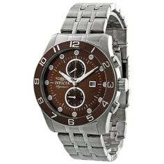 Invicta Signature II Divers Brown Dial Mens Watch 7448 Invicta. $89.99. Water Resistance : 5 ATM / 50 meters / 165 feet. Date. Round Stainless Steel Case. Quartz. Steel Bracelet Strap
