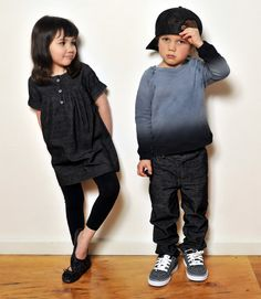 Henry and Camille modeling for Jessica's kids boutique from a few years back. Aren't they adorable?