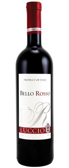 ☆ Luccio Bello Rosso is delightfully sweet with juicy flavors of cherry and strawberry, with balanced acidity and a soft smooth finish.