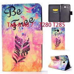 0081da840e0 Tab a6 7.0 Case For Samsung Galaxy Tab A 7.0 T280 T285 SM-T280 Case Smart  Sleep Cover Tablet Print Flip Leather Funda Shell | USA I USA