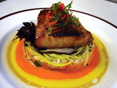 Chilean Sea Bass With Moho Sauce | Recipe | Sea Bass, Sauces and Sauce ...