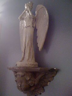 weeping angel made from a barbie doll. very cool w/ instructions.