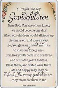 A Prayer for My Grandchildren