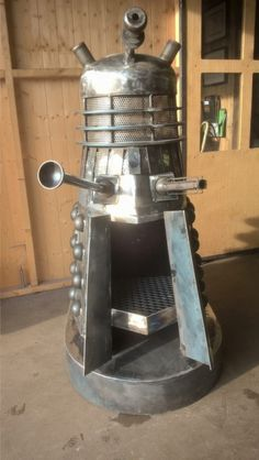 Exterminate some garden cuttings with this Dalek wood burner