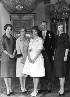 Danish Royal Media Watch: Princess Anne-Marie's Confirmation 1961-Princess Benedikte, Queen Ingrid, Princess Anne-Marie, King Frederik, Crown Princess Margrethe