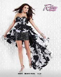 Riva R9474 at Prom Dress Shop