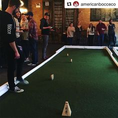The folks at @americanbocceco are high rolling it in Chicago. Check out their leagues in #chicago #newyork & #milwaukee. More to come #rollors #rollorsgame #bocceball #bocce #boccecourt #boccebar #bocceballs #bocceclub #sportsleagues #americanbocceco #fungame #fun #chilling #chillingwithfriends #