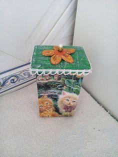 Caixas decorativas para guardar o que quiser feitas com pacote de leite