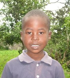 boys that need to be sponsored in Haiti, this is Dodeley, such a cute boy that I met at the Orphanage