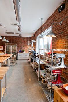 Commercial Teaching Kitchen Design || Dough Market, Asheville NC, Form & Function Architecture