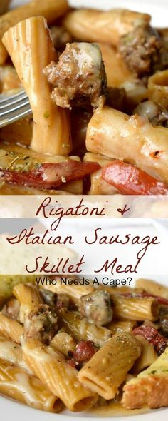 Rigatoni & Italian S