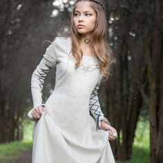 """Fairy Tale"" linen dress"