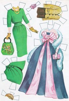 Paper Dolls~Heres The Bride - Bonnie Jones - Picasa Albums Web