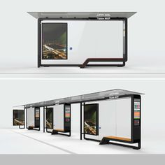 STREET FURNITURE FOR THE CITY OF SÃO PAULO – Bus Shelters and Information…