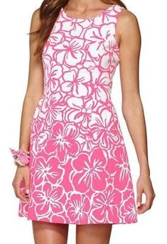 Lilly Pulitzer Bella Fit And Flare Dress