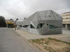 Gallery of Tourism Office in Arteixo / Alejandro García y Arquitectos - 7 Tourist Information, Outdoor Gear, Architecture Design, Tent, Gallery, Places, Travel, Office, Buildings