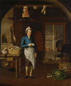 Kitchen Scene –  Atkinson 1771