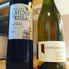 Vin du Week-end !! Château Latour de Rissac - Cabardès 2012 / Châtillon-en-Diois chardonnay 2013 ! #wine #languedoc #chatillonendiois #chardonnay