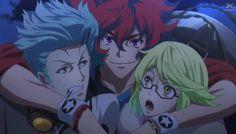 Shinsaku, Ryoma and Kogoro