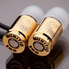 Ear Buds from 9mm casings